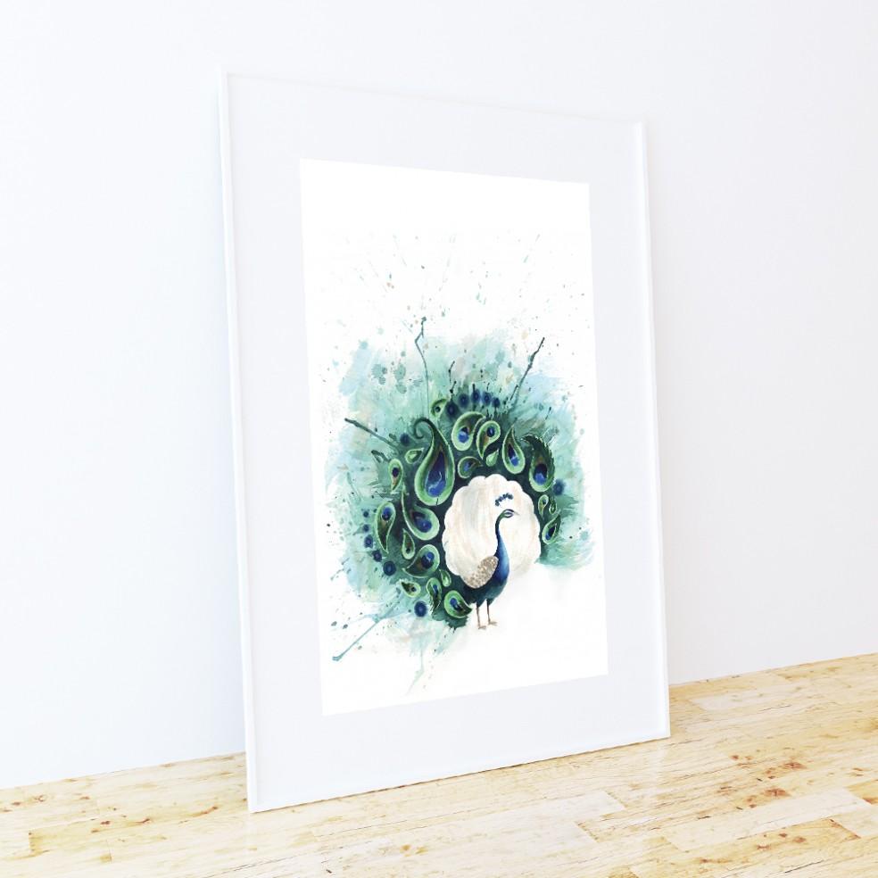 FRAME-MOCKUP-circle-peacock