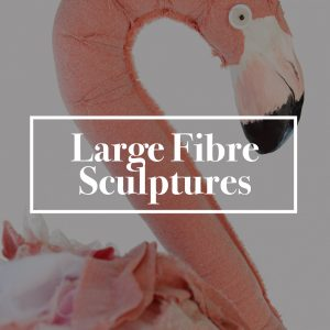 Large Fibre Sculptures
