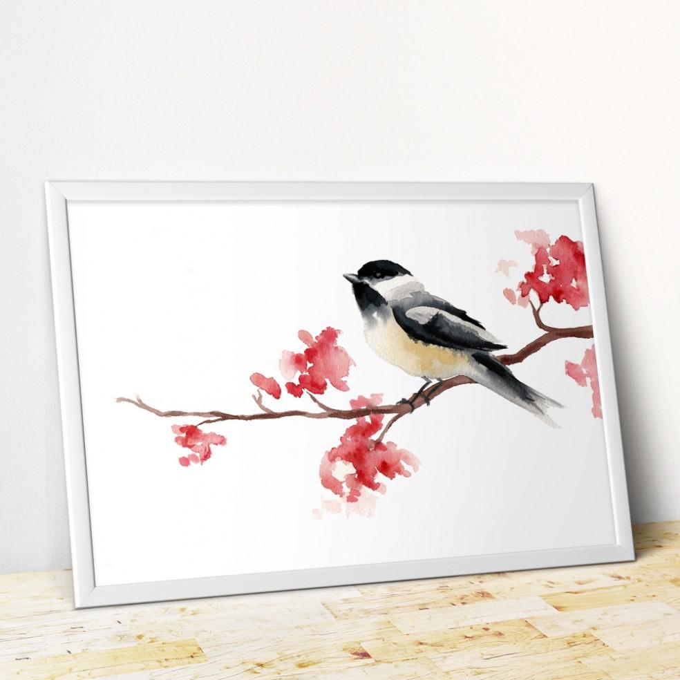Poster-Frame-MockUp-chickadee
