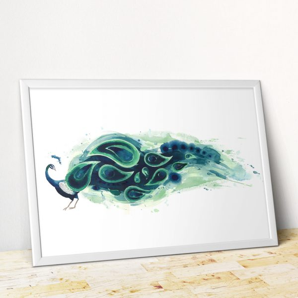 Poster-Frame-MockUp-horz-peacock