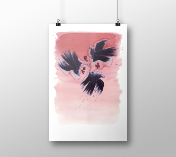 Ravenswood Art Print | Tracey Cameron Creative