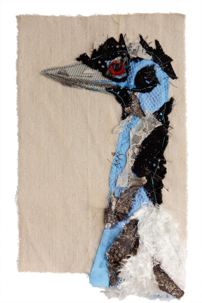 Emu | Textile Art | Tracey Cameron Creative