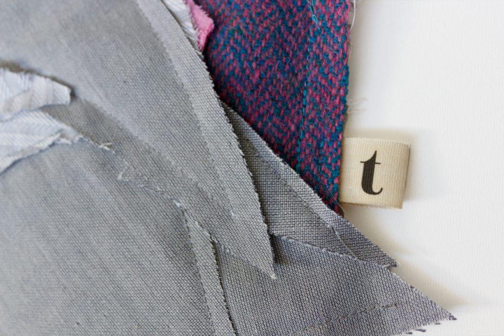 Galah Cockatoo Tag Detail | Textile Wall Hanging | Tracey Cameron Creative
