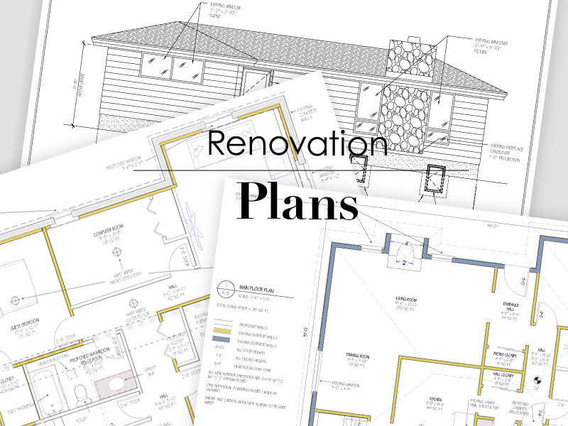 Renovation Plans | Tracey Cameron Creative